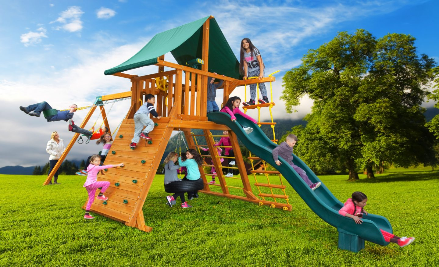 Residential playground ideas