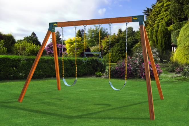 simple swingset design