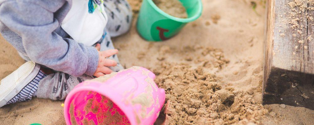 Sandbox for the backyard