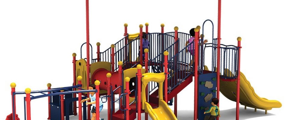 Swing sets with slide for Fun